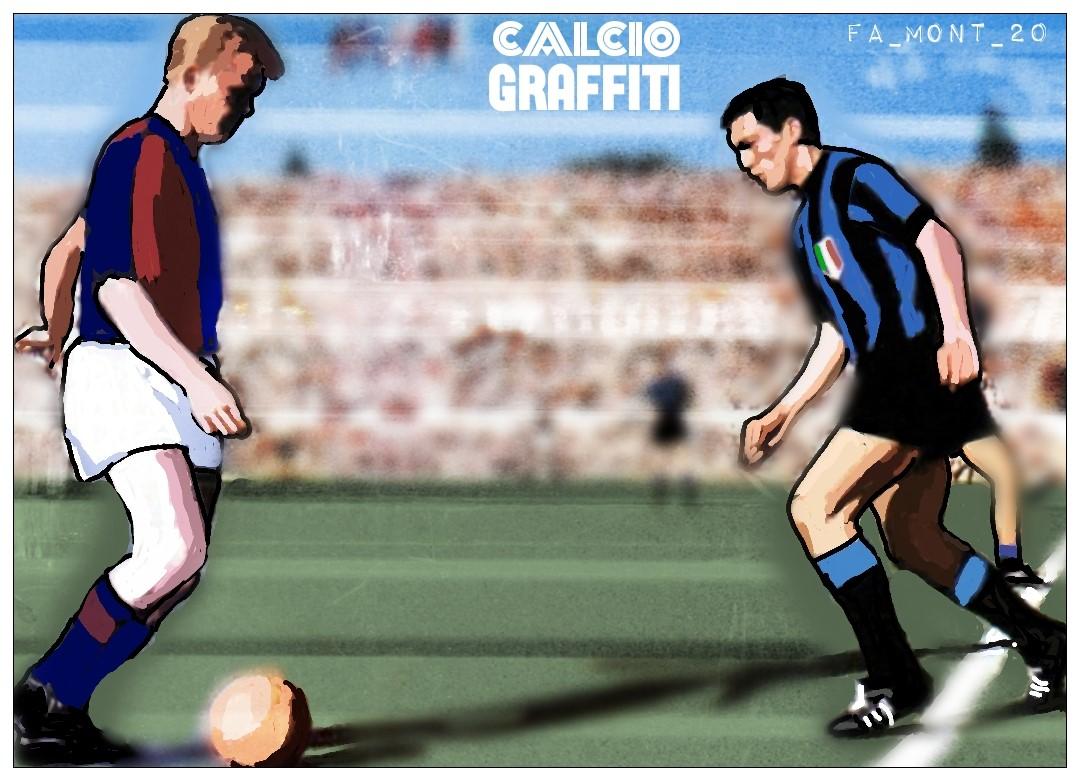BOLOGNA-INTER 2-0 SPAREGGIO SCUDETTO 1963-1964