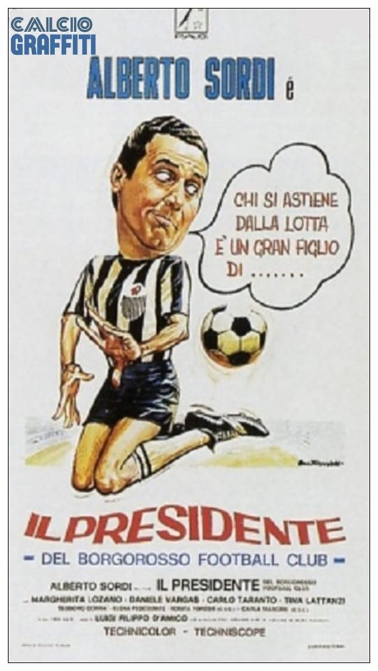 IL PRESIDENTE DEL BORGOROSSO FOOTBALL CLUB