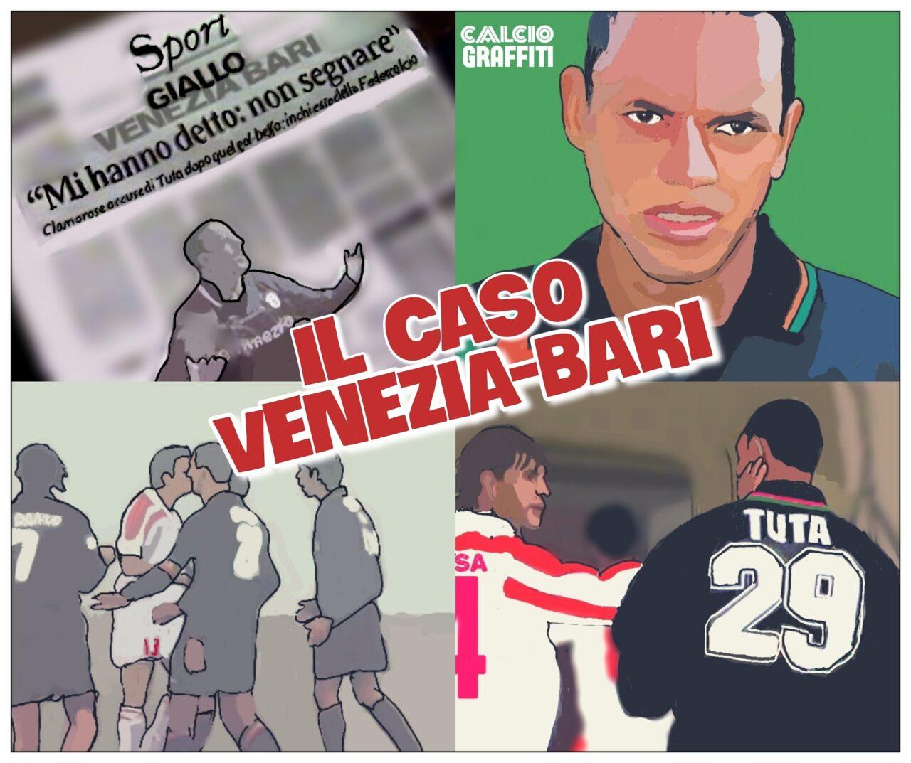 IL CASO VENEZIA BARI E L'IGNARO TUTA