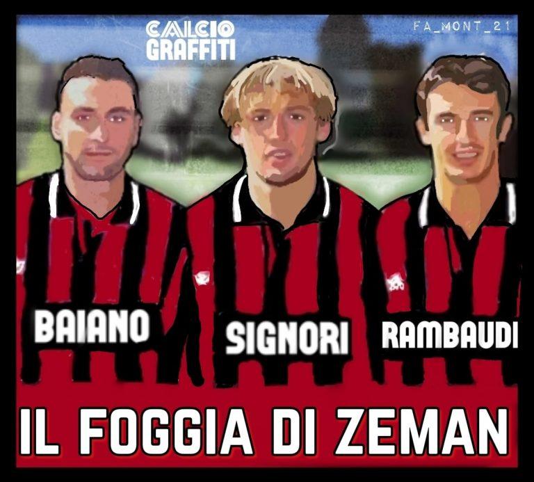 IL FOGGIA DI ZEMAN 1991-1992